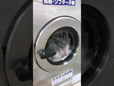 ぬいぐるみをコインランドリーで洗濯してみた