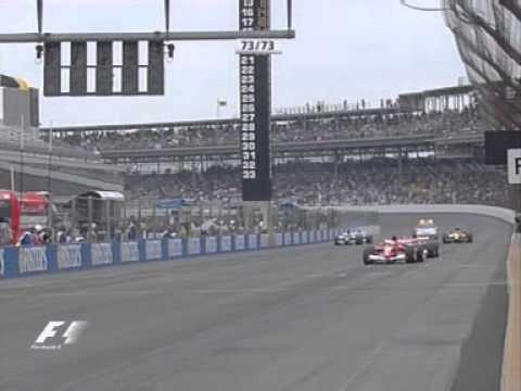 The strangest start ever - Indianapolis 2005