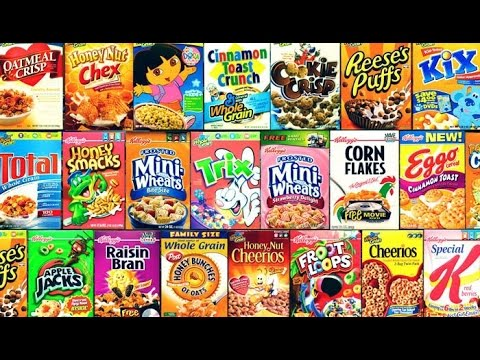 Top 10 Cereals Of All Time - YouTube