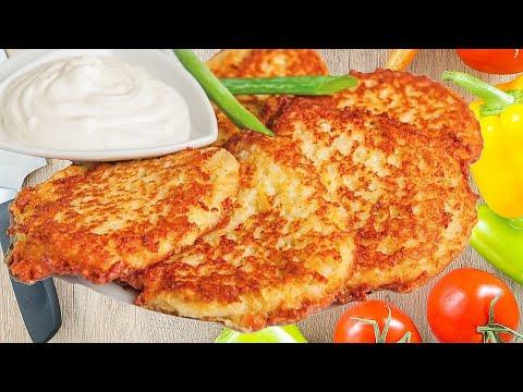 Драники картофельные, классический рецепт