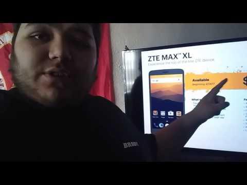 ZTE MAX XL LEAK FOR BOOST MOBILE