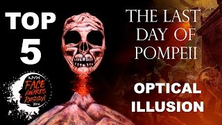 NYX FACE AWARDS RUSSIA TOP 5 OPTICAL ILLUSION/ THE LAST DAY OF POMPEII - MARY DAV