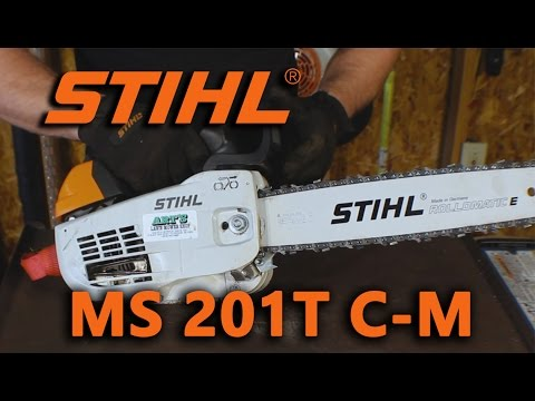Stihl MS201T C-M Overview/Review