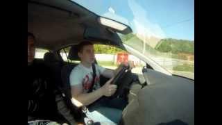 уроки экстремального вождения. заносы