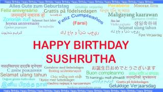 Sushrutha   Languages Idiomas - Happy Birthday