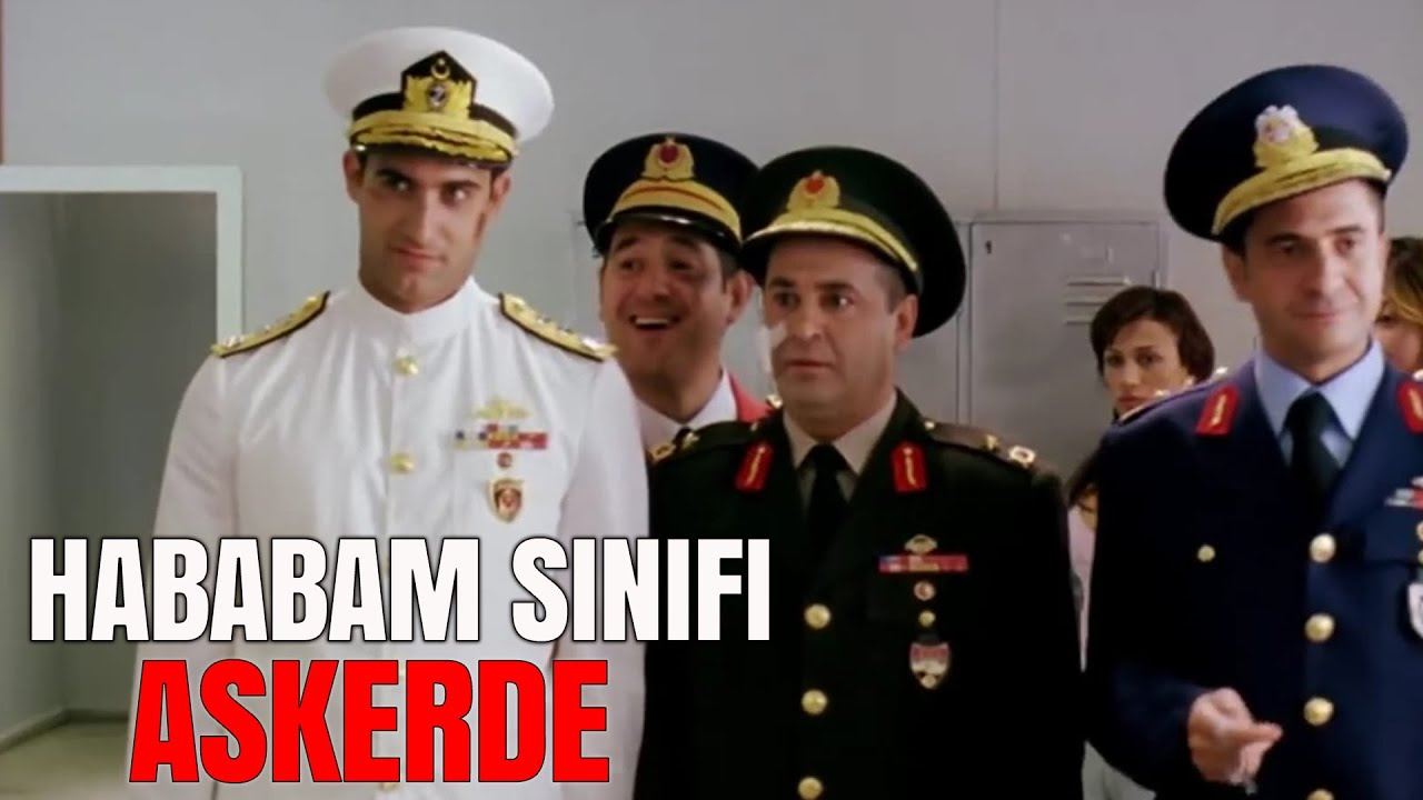 Hababam Sınıfı Askerde | Türk Komedi Filmi Tek Parça