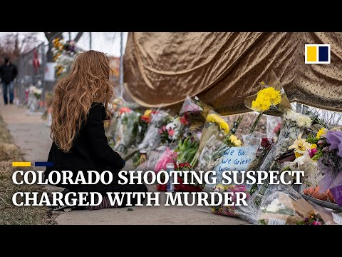 Suspect in Colorado shooting charged with murder after 10 people killed in attack