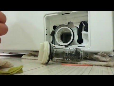 Как почистить фильтр стиральной машины - YouTube