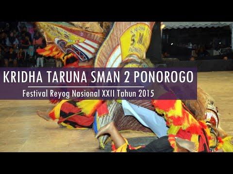 FRN XXII 2015 Rangking V KRIDHA TARUNA SMAN 2 Ponorogo - Festival Reyog Nasional XXII