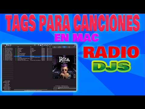 Yate 3 - Id tag 3 Etiquetas Para Mac Tutorial Español  🎧 ⏯