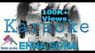 Enna Sona Full Karaoke (Karaoke Websites), Ok Jaanu, Arijit Singh, Instrumental with Lyrics Song