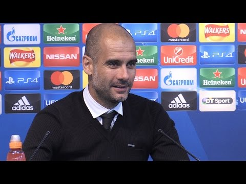 Manchester City 4-0 Borussia Monchengladbach - Pep Guardiola Full Post Match Press Conference
