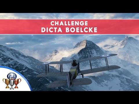 Battlefield 1 Codex Entry Challenge - Dicta Boelcke - Don't lose the chase trail in Test Flight