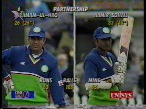 #PARTNERSHIP - Inzamam & Aamer Sohail MATCH WINNING Stand Vs New zealand 1994