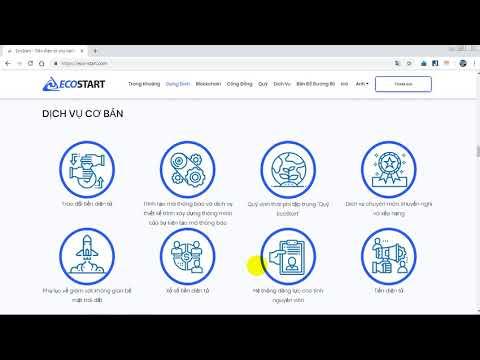 EcoStart ICO - Tokensale Details