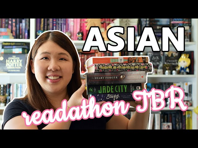 Asian Readathon TBR 🎎