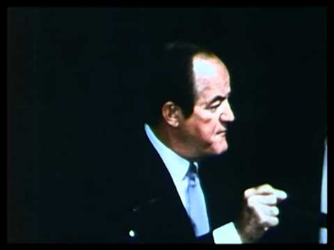 Hubert Humphrey on Use of Power 1968