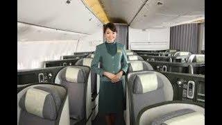 5-STAR AIRLINE EVA AIR BUSINESS CLASS- TORONTO(YYZ)- TAIPEI(TPE). B777-300ER