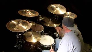 chris higbee fiddles rock drum cover