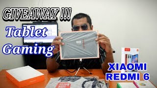 Give Away Tablet Gaming & Xiaomi Redmi 6