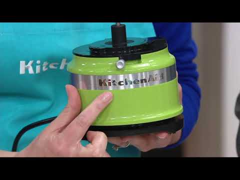 Kitchen Aid Mini Food Processor Review 3 5 Cup Kfc3516cu Youtube