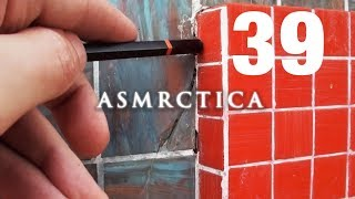 ASMR Welcome to visit my new Patreon page! Tile Wall Tracing Soft Spoken