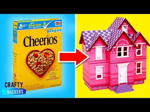 50 BEST Recycled Dollhouse, Furniture And Accessory Crafts & Hacks