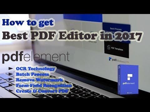How to Edit scanned pdf or image file offline (OCR technology)