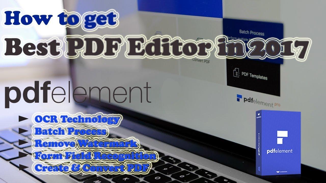 Ocr Pdf Editor