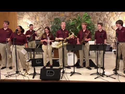 Denver Jazz Club Youth All Stars performing Mardi Gras in New Orleans on April 21, 2018 at Park Hill