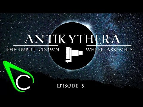 The Antikythera Mechanism Episode 5 - The Input Crown Wheel Assembly