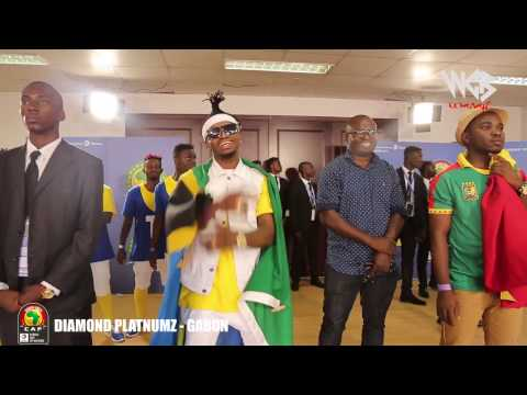 Diamond Platnumz Live performance at AFCON 2017 / GABON