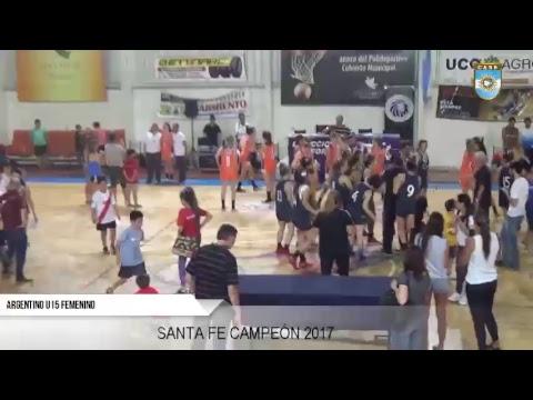 Argentino Femenino U15 de Selecciones - La Final: Mendoza vs. Santa Fe