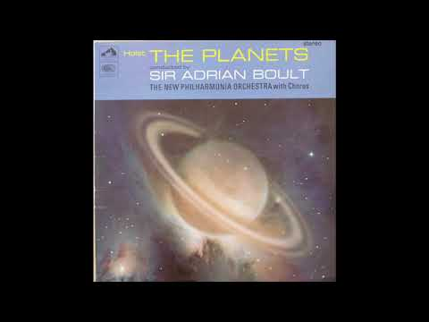 Holst The Planets Sir Adrian Boult The New Philharmonia Orchestra With Chorus