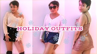 HOLIDAY OUTFIT IDEAS 2021 | CASUAL WINTER OUTFITS IDEAS 2021 |