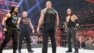 WWE 20 July 2019 : Roman Reigns Vs Brock Lesnar Match Highlights | WWE RAW 20 July 2019 Highlights