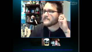 Edmund McMillen and Tommy  (Super Meat Boy, The Binding of Issac) game developer interview - 1 / 6