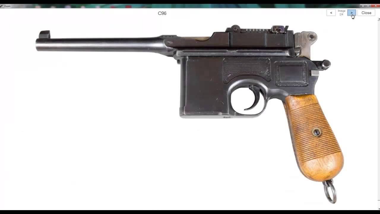 Mauser Pistols C96 M1921 Bolo Hsc Luger Red 9 M1910 Etc Mosin Nagant Gun Schematic Youtube Premium