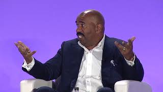 Steve Harvey Talks About The Costs He Paid For Jumping After His Dreams