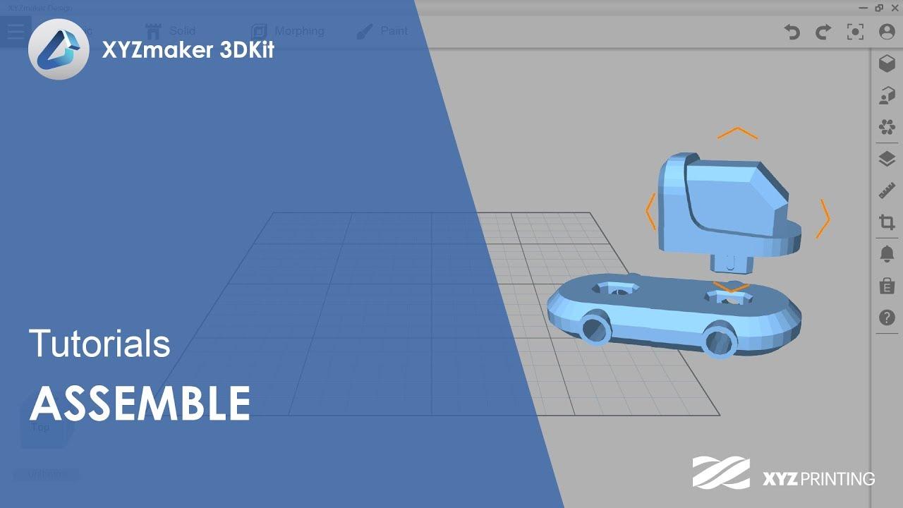 XYZmaker 3DKit Tutorials l Assemble