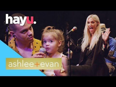 Ashlee Shares New Music With Her Kids | Ashlee + Evan