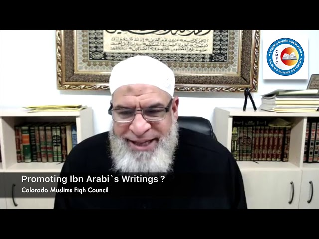 Promoting Ibn Arabi`s Writings amongst the Youth ?