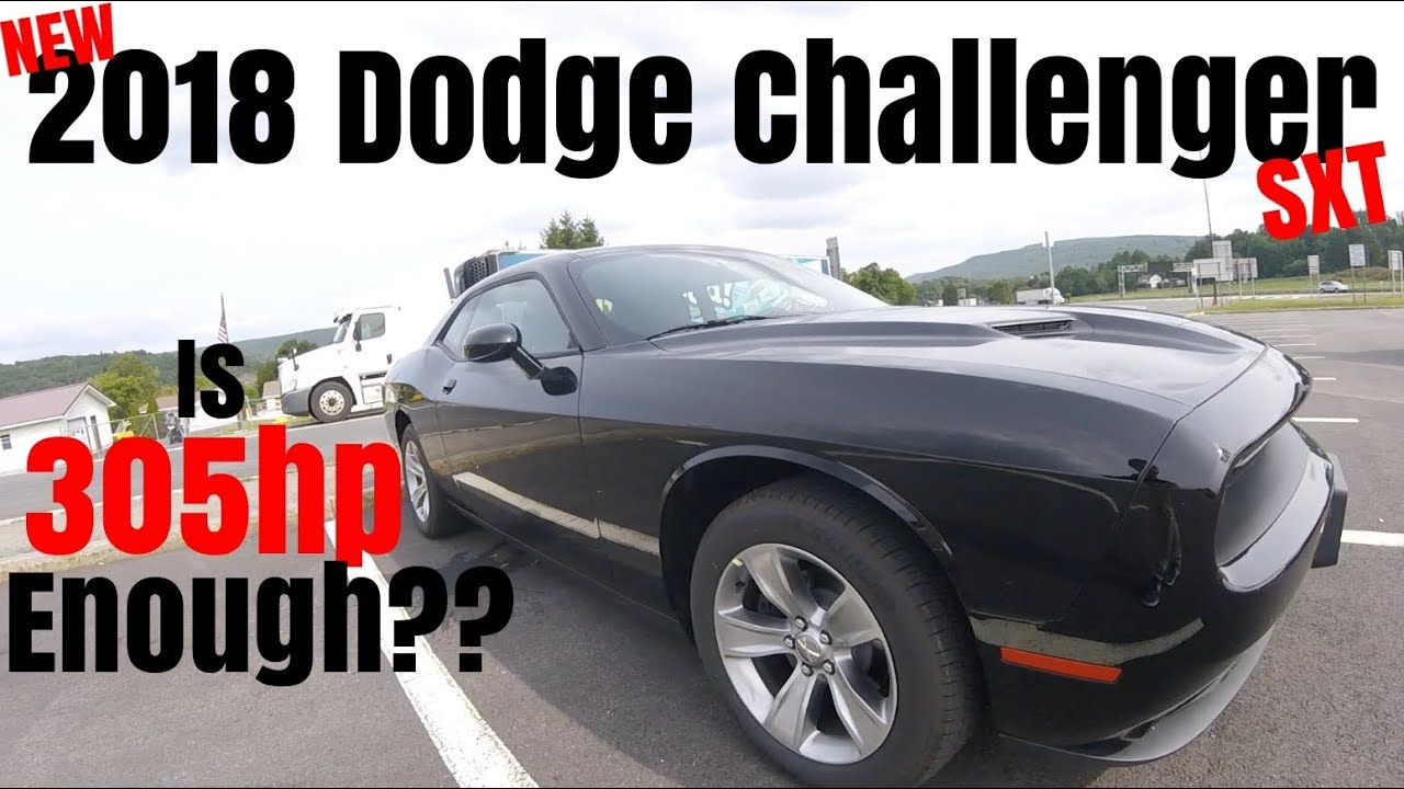2018 Dodge Challenger Sxt 0 60 Road Test Review Is 305hp Enough