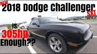 2018 Dodge Challenger SXT 0-60 Road Test & Review - Is 305hp Enough ??