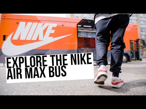 Rediscover The Air Max History Inside The Nike Air Max Bus