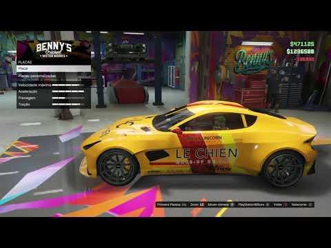 GTA V Online - Tunagem - Specter
