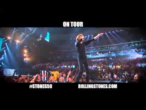 "Rolling Stones 2013 ""50 and Counting"" Tour Trailer"