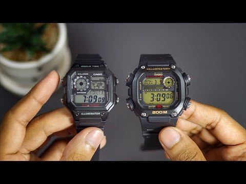 Casio 'King' Watch Review - Heavy Duty DW-291H Gold Black