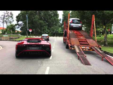 Lamborghini Aventador Sv In Malaysia Youtube