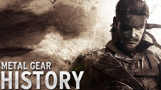 History of - Metal Gear (1987-2015)